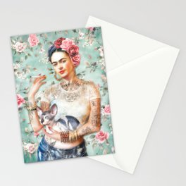 Frida's Exotic Cat Stationery Cards