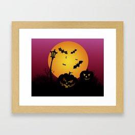 Spooky Halloween 6 Framed Art Print