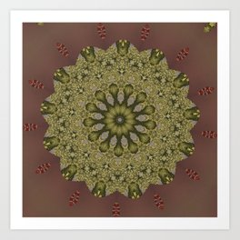 Better than Yours Colormix Mandala 12 Art Print