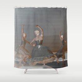 Circle dance Shower Curtain