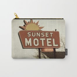 Sunset Motel Carry-All Pouch