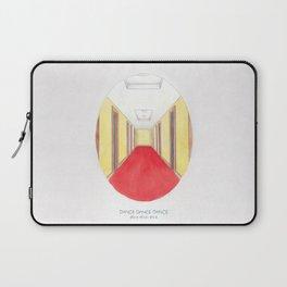 Haruki Murakami's Dance Dance Dance // Illustration of The Dolphin Hotel in Watercolour & Pencil Laptop Sleeve