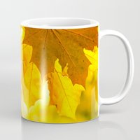 religious Mugs featuring Fall meditation  by UtArt