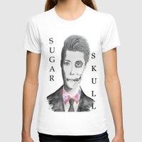 kpop T-shirts featuring Sugar skull Sehun by Ahri Tao