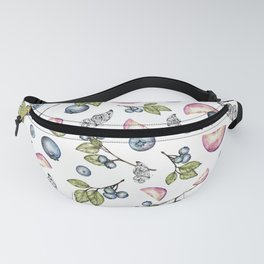 Berries & Plums  Fanny Pack