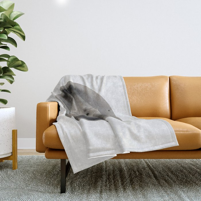 X-ray diffraction image of DNA Throw Blanket