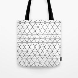 Watercolour triangles Tote Bag