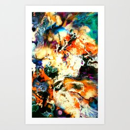 episode with w.h. macy Art Print
