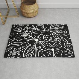 Chalk Florals Rug