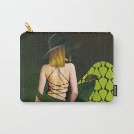 WOMEN - GREEN Carry-All Pouch