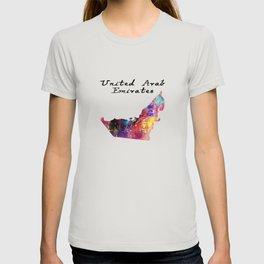 United Arab Emirates Quote Art Design Inspirationa T-shirt