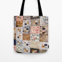 quilt Tote Bags featuring Quilt by Shenreice