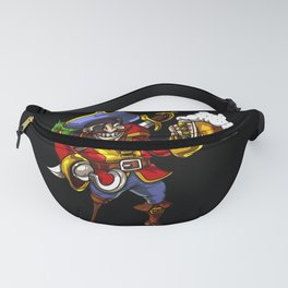 Pirate Sailor Drinking Beer Party Fanny Pack
