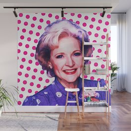 Betty White - Pop Art Wall Mural