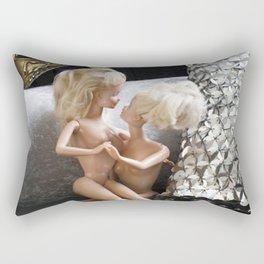 Time for friends Rectangular Pillow