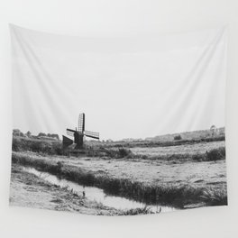 Wind Farm Wall Tapestry
