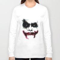 the joker Long Sleeve T-shirts featuring Joker by Lyre Aloise