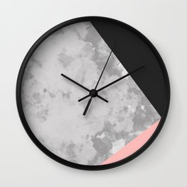 Gray Coude Wall Clock