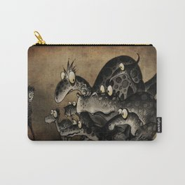 Funny Monsters Carry-All Pouch