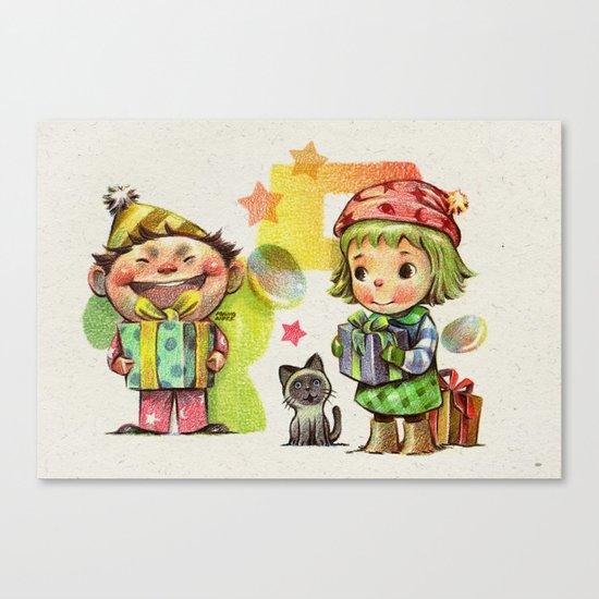 Thank you (Buyer & follower) Canvas Print
