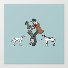 dalmations Canvas Print