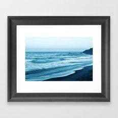 Cloudless Framed Art Print
