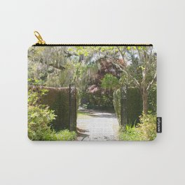 Southern Spring Garden Entry Carry-All Pouch