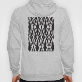 African Tribal Pattern No. 132 Hoody