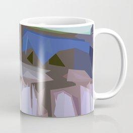 St. Maarten Color Block Fence  Coffee Mug