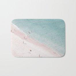 beach family love Bath Mat