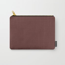 After Silence, Music ~ Reddish Brown Carry-All Pouch