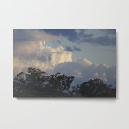 Mountains or Clouds? Metal Print