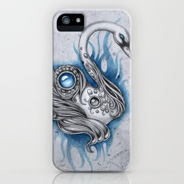 A swan for a swan iPhone Case