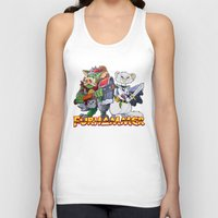 """warhammer Tank Tops featuring Furhammer """"P'Orc and Dark Ferret"""" by the Artisan Rogue"""