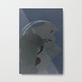 Alphonse Elric Metal Print