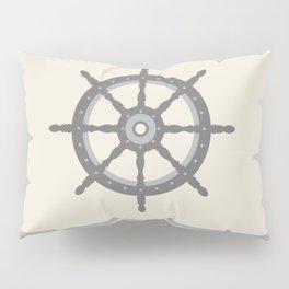 AFE Gray Helm Wheel Pillow Sham
