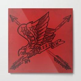 Freedom Eagle Metal Print