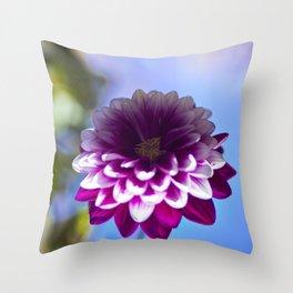 Color Life Pink. Throw Pillow