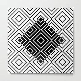Geo Square 06 Metal Print
