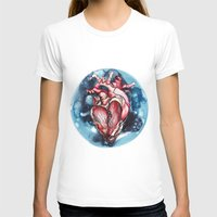 planet T-shirts featuring Planet by Alla Lsk
