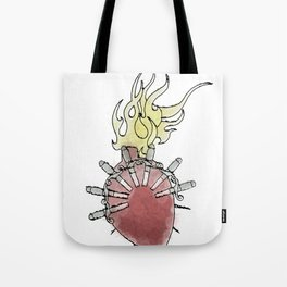 Sorrowful Mother's Heart Tote Bag