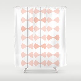Pretty Bows All In A Row Shower Curtain