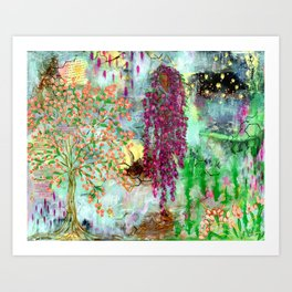 Lean in to the Sweet Art Print