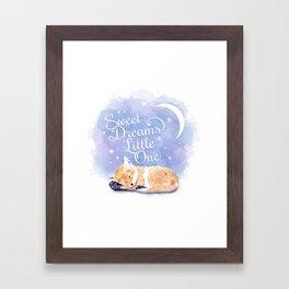 Sweet Dreams Little One Framed Art Print