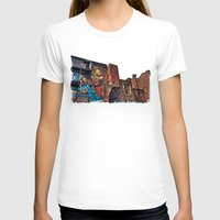 manchester T-shirts featuring Colourful MANchester by inkedsandra