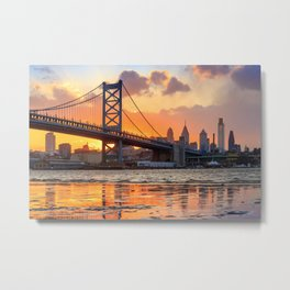 Philadelphia 02 - USA Metal Print
