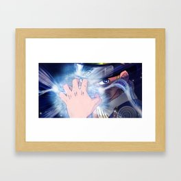 Rasengan Framed Art Print