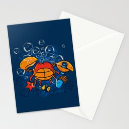 Jellyfishes Birth Stationery Cards
