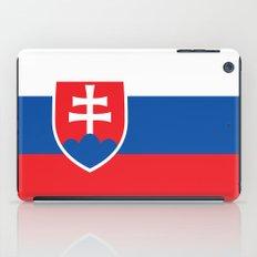 National flag of Slovakia iPad Case