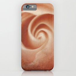 Pink Swirl - Living Coral - JUSTART (c) iPhone Case
